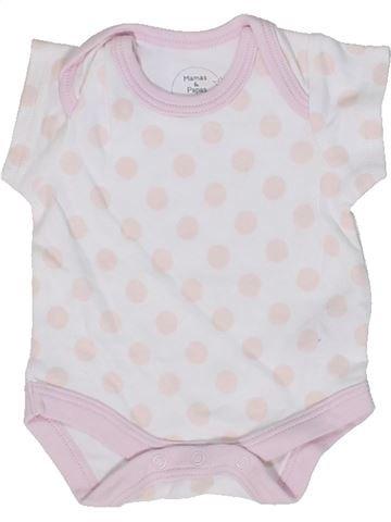 Camiseta de manga corta niña MAMAS & PAPAS rosa 1 mes verano #1299246_1