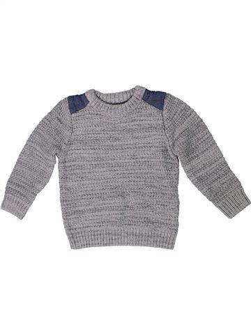 Pull garçon MATALAN gris 3 ans hiver #1299940_1