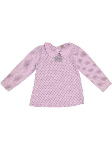 Camiseta de manga larga niña TU rosa 5 años invierno #1300295_1