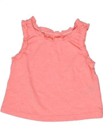 Camiseta sin mangas niña F&F rosa 1 mes verano #1300319_1