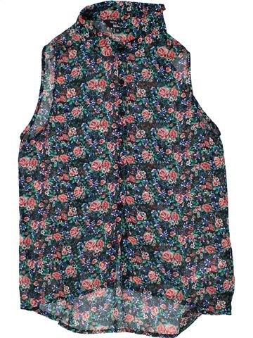 Blusa de manga corta niña NEW LOOK azul 13 años verano #1300384_1