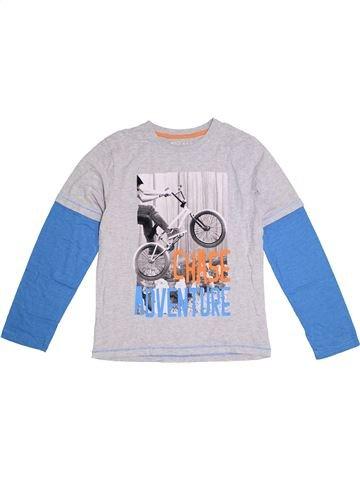 T-shirt manches longues garçon NUTMEG blanc 12 ans hiver #1300602_1