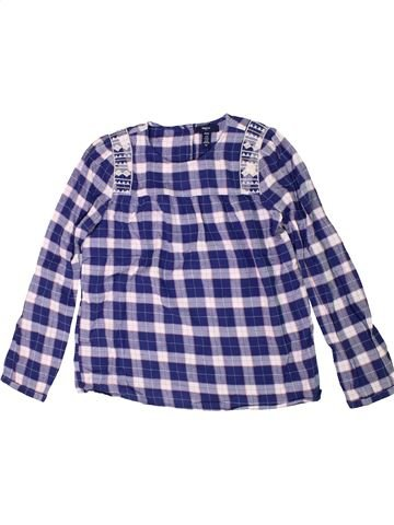 Blusa de manga larga niña GAP gris 12 años invierno #1300751_1