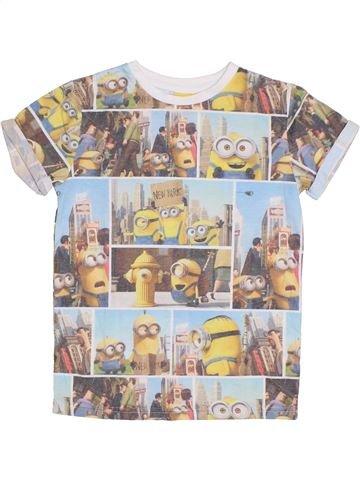 T-shirt manches courtes garçon LES MINIONS gris 8 ans été #1300855_1