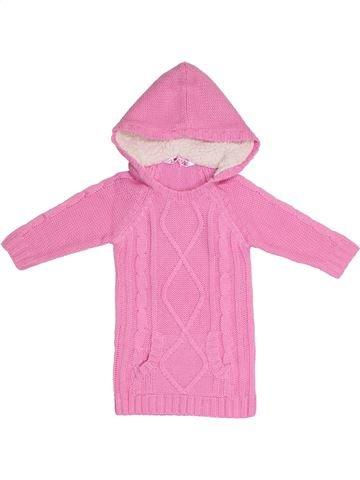 Vestido niña SANS MARQUE rosa 3 años invierno #1300867_1