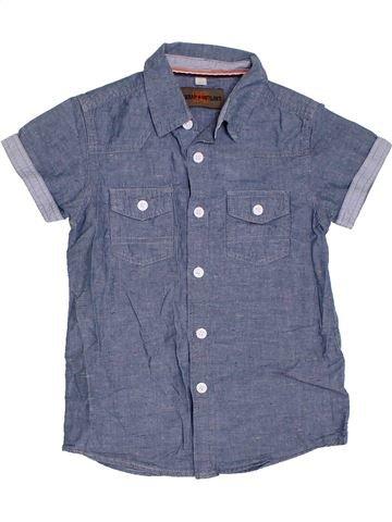 Chemise manches courtes garçon URBAN 65 OUTLAWS bleu 7 ans été #1300956_1