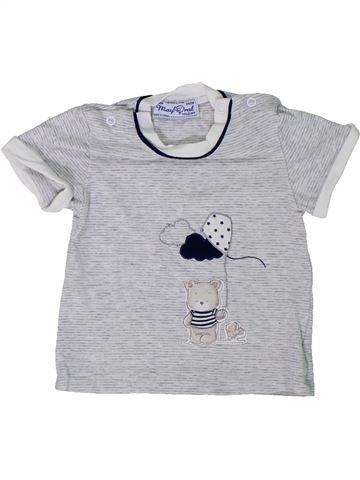 Camiseta de manga corta niño MAYORAL gris 0 meses verano #1301191_1
