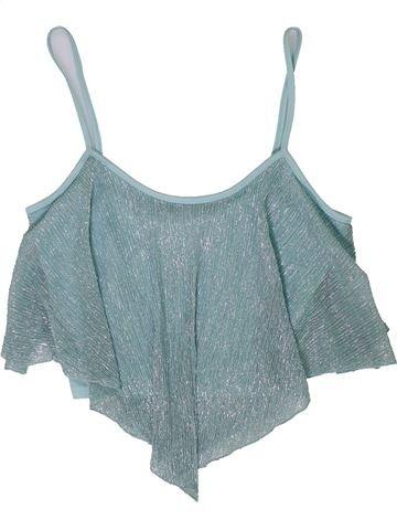 Blusa de manga corta niña NEW LOOK azul 11 años verano #1301219_1