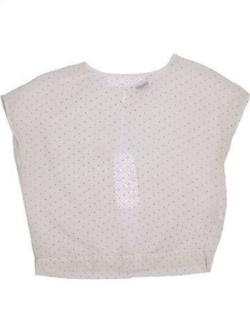 Blusa de manga corta niña NEW LOOK blanco 14 años verano #1301254_1