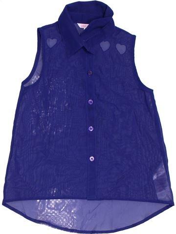 Blusa de manga corta niña MISS E-VIE violeta 8 años verano #1301257_1