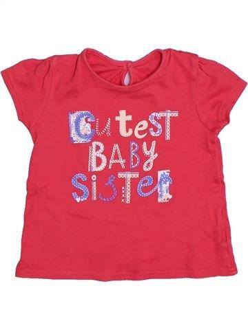Camiseta de manga corta niña GEORGE rosa 2 años verano #1301307_1