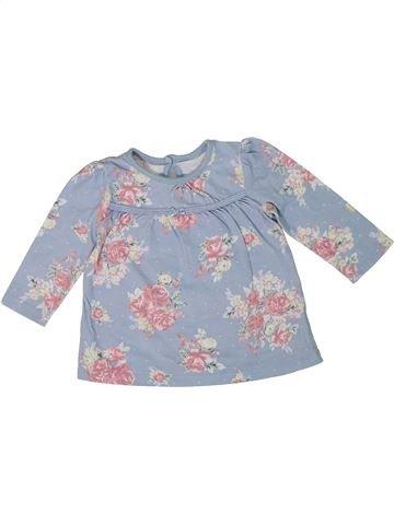 Camiseta de manga larga niña GEORGE gris 6 meses invierno #1301322_1