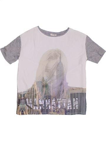T-shirt manches courtes fille RIVER ISLAND blanc 12 ans été #1301340_1