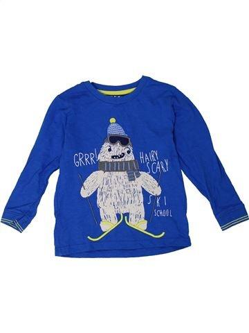 Camiseta de manga larga niño NUTMEG azul 4 años invierno #1301343_1