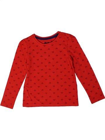 Camiseta de manga larga niña TU rojo 4 años invierno #1301404_1