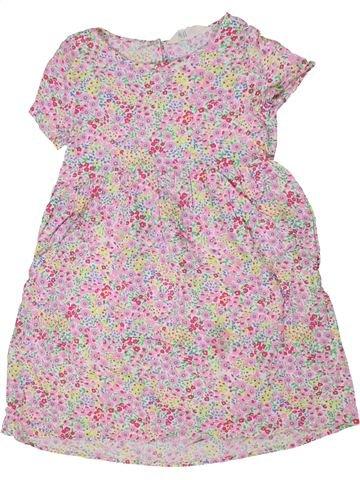 Robe fille H&M rose 7 ans été #1301458_1