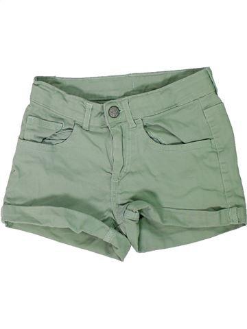 Short-Bermudas niña H&M verde 10 años verano #1301651_1