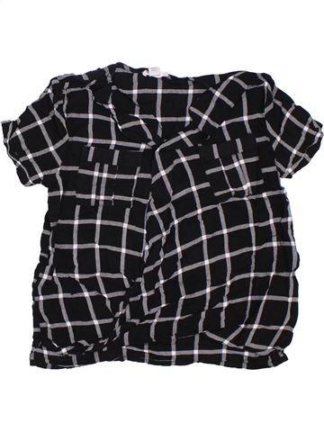Blusa de manga corta niña RIVER ISLAND negro 10 años verano #1301698_1