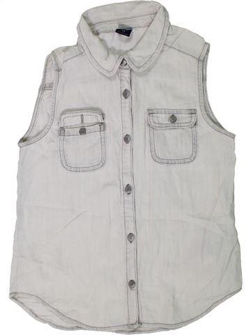 Blusa de manga corta niña GAP gris 10 años verano #1301706_1