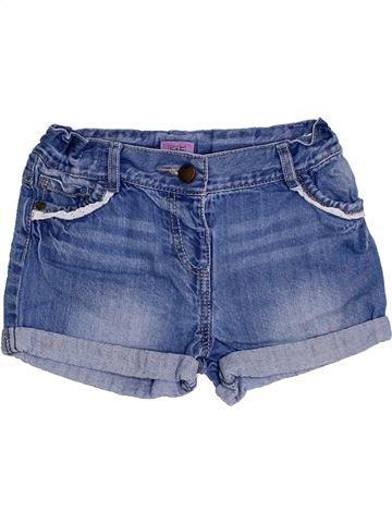 Short-Bermudas niña F&F azul 4 años verano #1301768_1