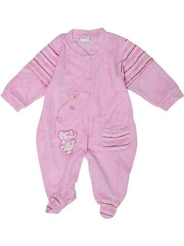 Pijama de 1 pieza niña K&Y rosa 12 meses invierno #1301780_1