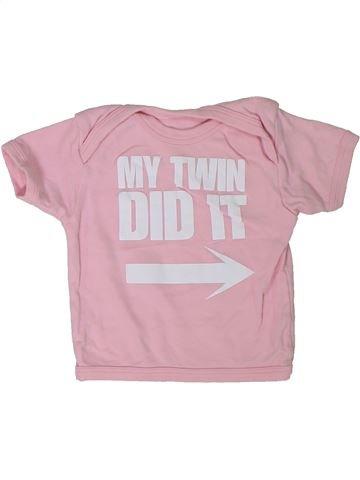 Camiseta de manga corta niña BABY PREM rosa 12 meses verano #1301864_1