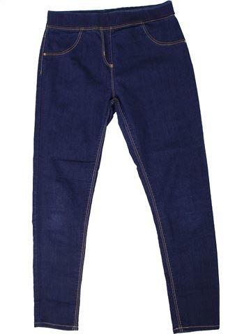 Pantalón niña GEORGE azul 12 años verano #1302013_1