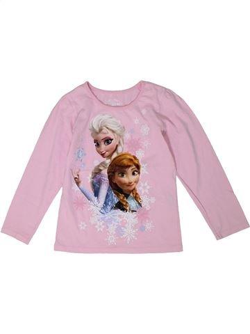 Camiseta de manga larga niña DISNEY rosa 7 años invierno #1302021_1