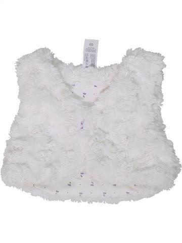 Chaleco niña C&A blanco 6 meses invierno #1302066_1