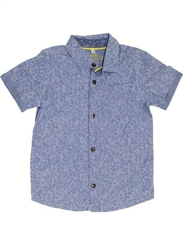 Camisa de manga corta niño MARKS & SPENCER gris 4 años verano #1302132_1