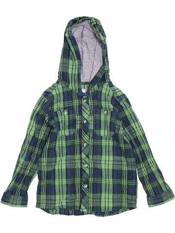 Chemise manches longues garçon CHEROKEE vert 6 ans hiver #1302228_1