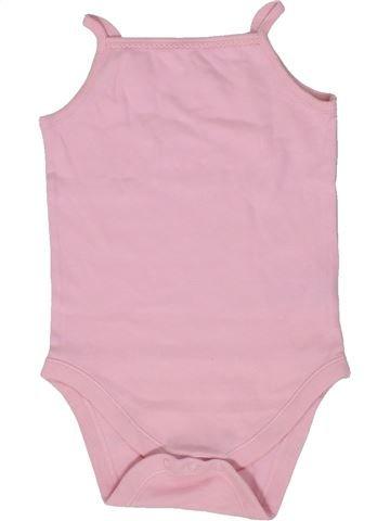 Camiseta sin mangas niña F&F rosa 2 años verano #1302293_1