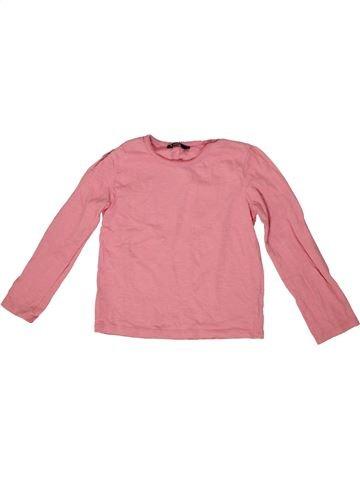Camiseta de manga larga niña GEORGE rosa 6 años invierno #1302302_1