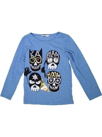 Camiseta de manga larga niño H&M azul 8 años invierno #1302349_1