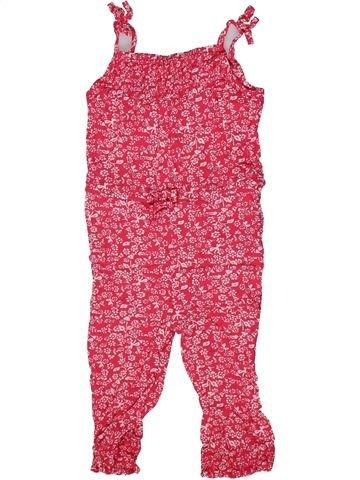 Combinación larga niña PRIMARK rosa 12 meses verano #1302357_1