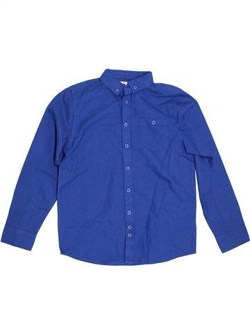 Chemise manches longues garçon BOYS bleu 11 ans hiver #1302415_1