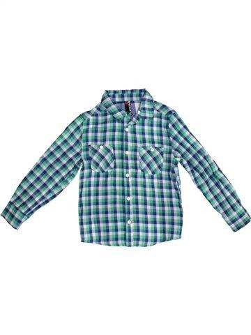 Chemise manches longues garçon FLIPBACK bleu 8 ans hiver #1302437_1