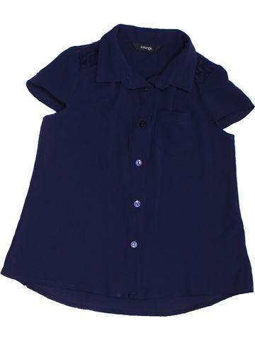 Blusa de manga corta niña GEORGE violeta 6 años verano #1302458_1