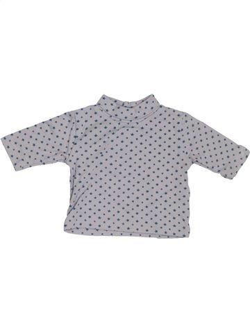 Camiseta de manga larga niña SMILE gris 1 mes invierno #1302566_1