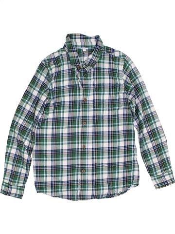 Chemise manches longues garçon MARKS & SPENCER gris 10 ans hiver #1302578_1