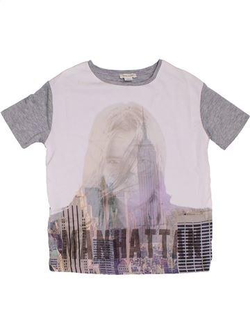 T-shirt manches courtes fille RIVER ISLAND blanc 8 ans été #1302590_1