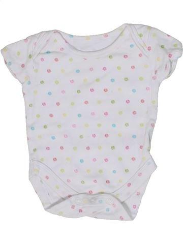 T-shirt manches courtes fille MOTHERCARE gris naissance été #1302615_1