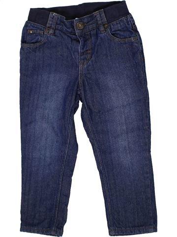 Pantalón niño H&M azul 2 años invierno #1302627_1