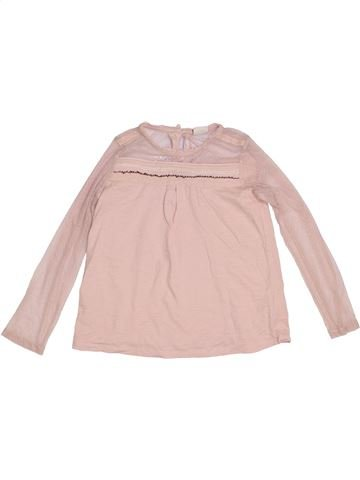 T-shirt manches longues fille ZARA rose 10 ans hiver #1302653_1
