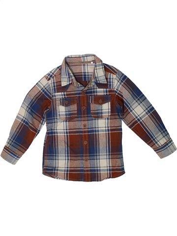 Camisa de manga larga niño TU marrón 4 años invierno #1302682_1