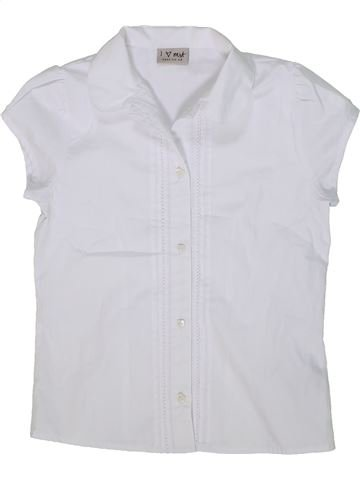 Blusa de manga corta niña NEXT blanco 10 años verano #1302699_1