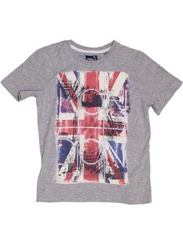 Camiseta de manga corta niño TU violeta 6 años verano #1302718_1
