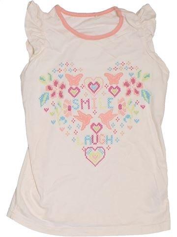 Camiseta de manga corta niña GEORGE blanco 7 años verano #1302723_1