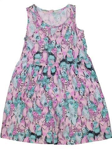 Robe fille H&M violet 6 ans été #1302767_1