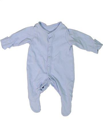 Pyjama 1 pièce garçon TU bleu prématuré été #1302825_1